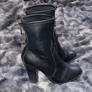 Aldo 4inch high ankle boots